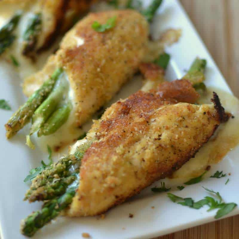 recipe: asparagus stuffed chicken breast tasty [16]
