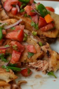 Quick Easy Tex Mex Chicken Chimichangas