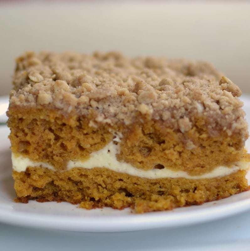 Spice Cake Mix Pumpkin Cream Cheese Bars