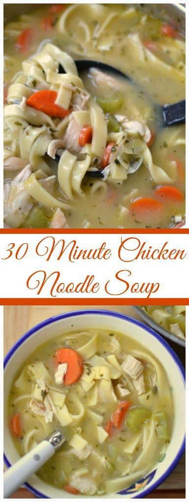 30 minute chicken noodle soup small town woman print forumfinder Images