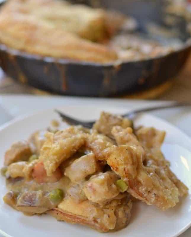 chicken pot pie puff pastry