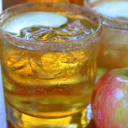 Apple Cider Whiskey Cocktails