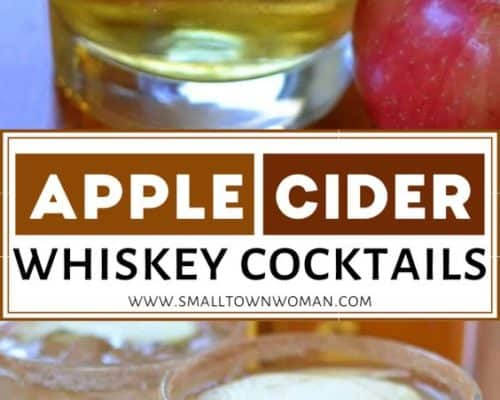 Apple Cider Whiskey Cocktail