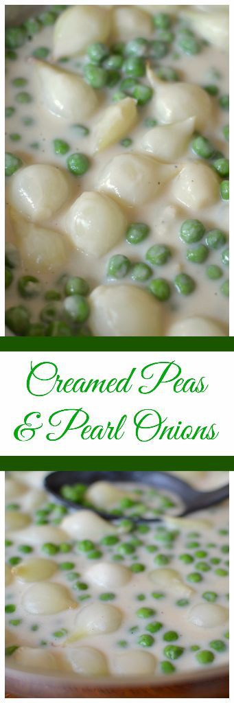 Creamed Peas with Pearl Onions