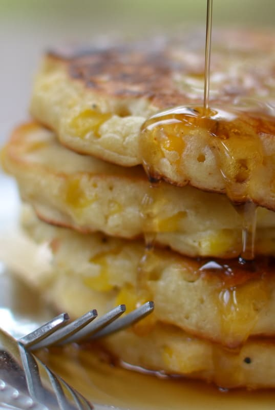 Quick and Crispy Corn Fritters | Small Town Woman