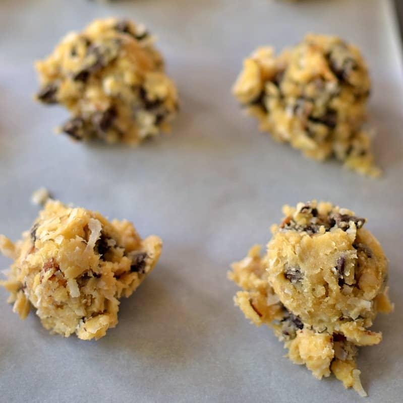 Almond Joy Cookie Recipe