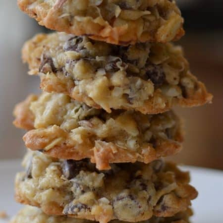 Small Batch Almond Joy Cookies