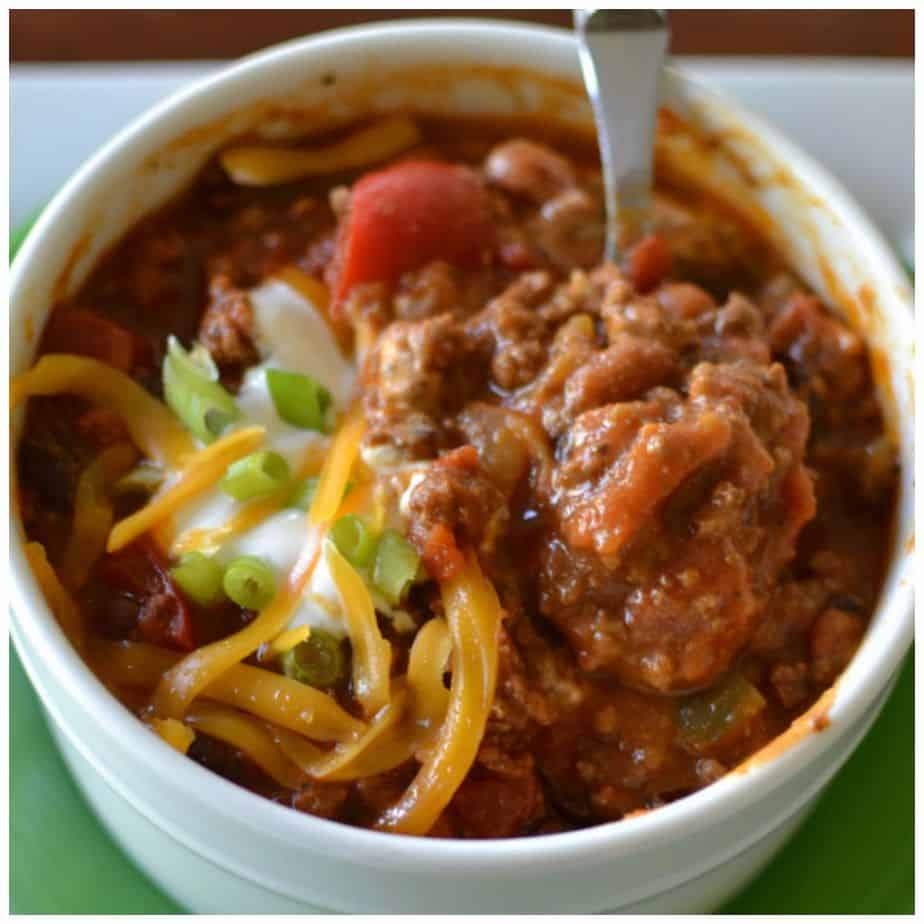 A hearty beef and bean chili is a simple, delicious recipe for the cold winter months
