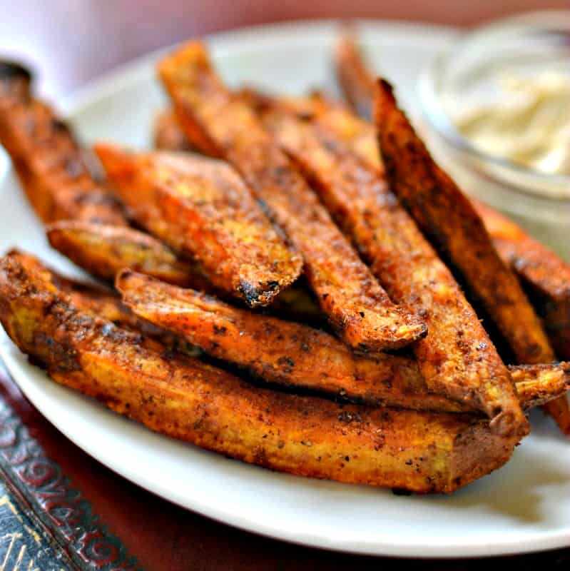 Baked Sweet Potato Fries Extra Crispy And Flavorful