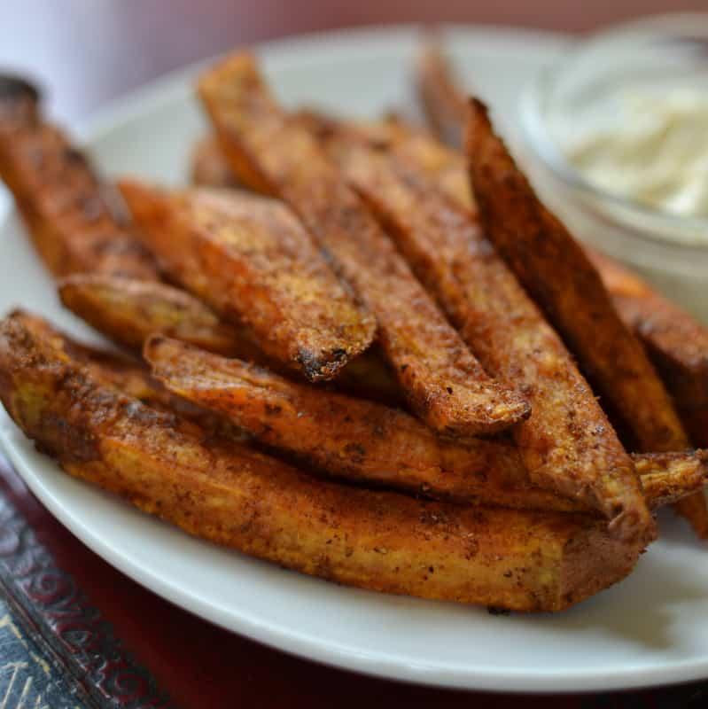 how to make oven spiral sweet potato fries