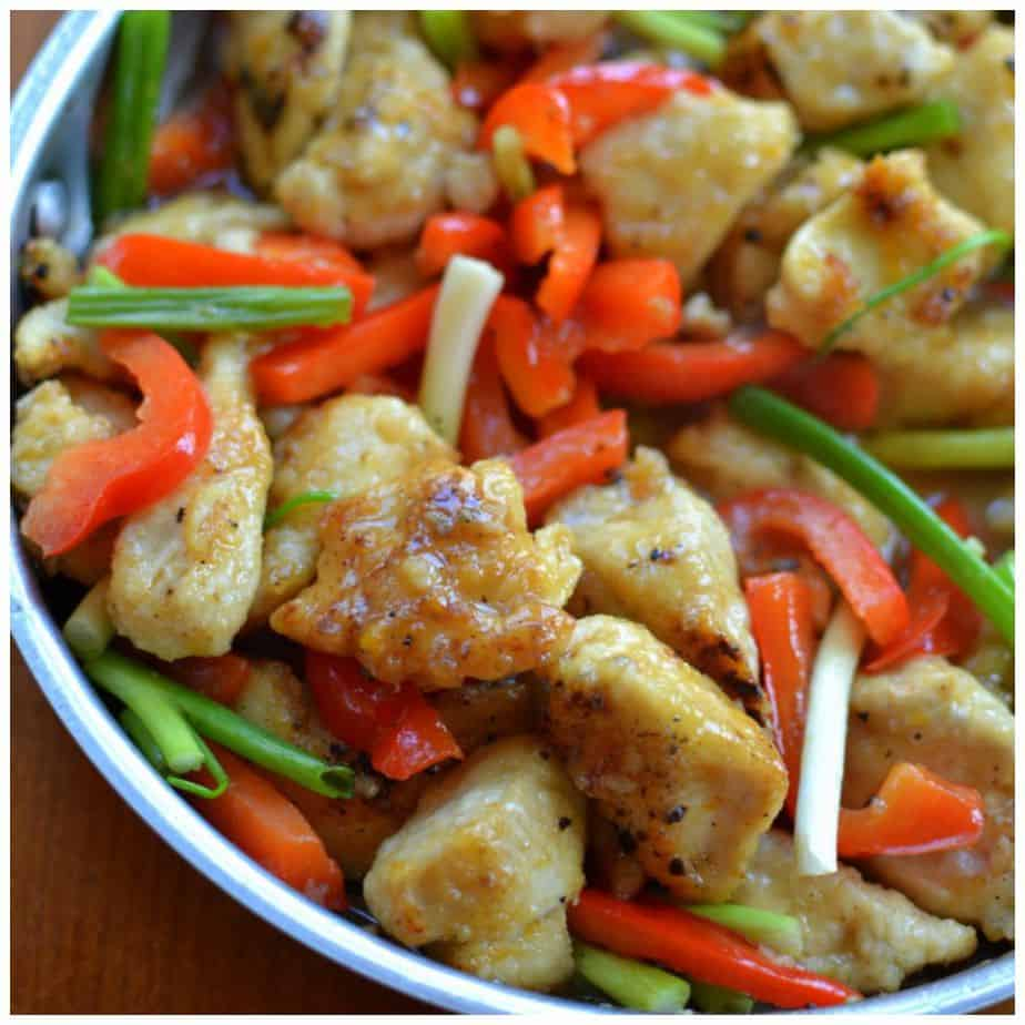 This easy and delicious orange chicken recipe is WAY better than your favorite takeout!