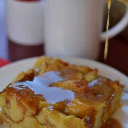 Easy Overnight Eggnog Bread Pudding Perfect with Starbucks®Coffee