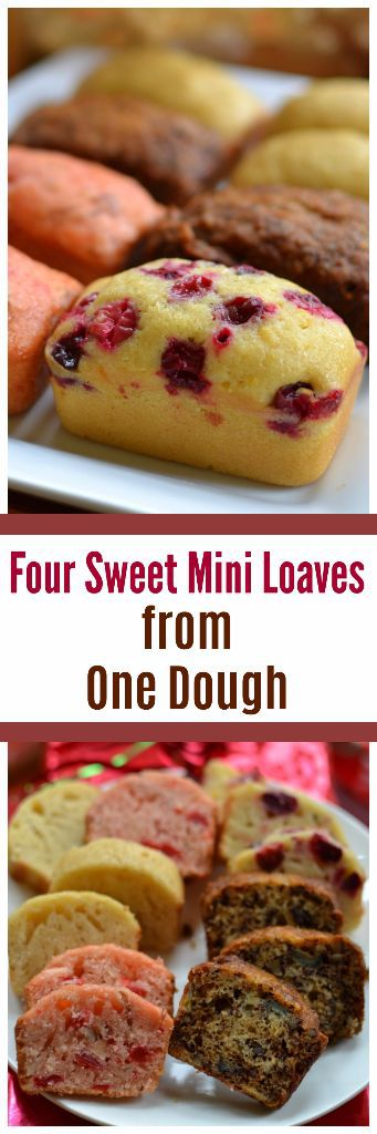Four Sweet Mini Loaves From One Dough Small Town Woman