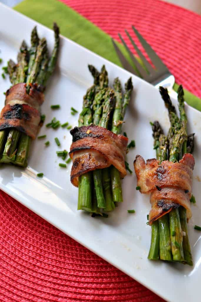 Oven Bacon Wrapped Asparagus (Elegance Made Easy)