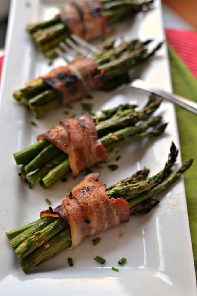 Oven-Baked Bacon Wrapped Asparagus is a Delicious Appetizer