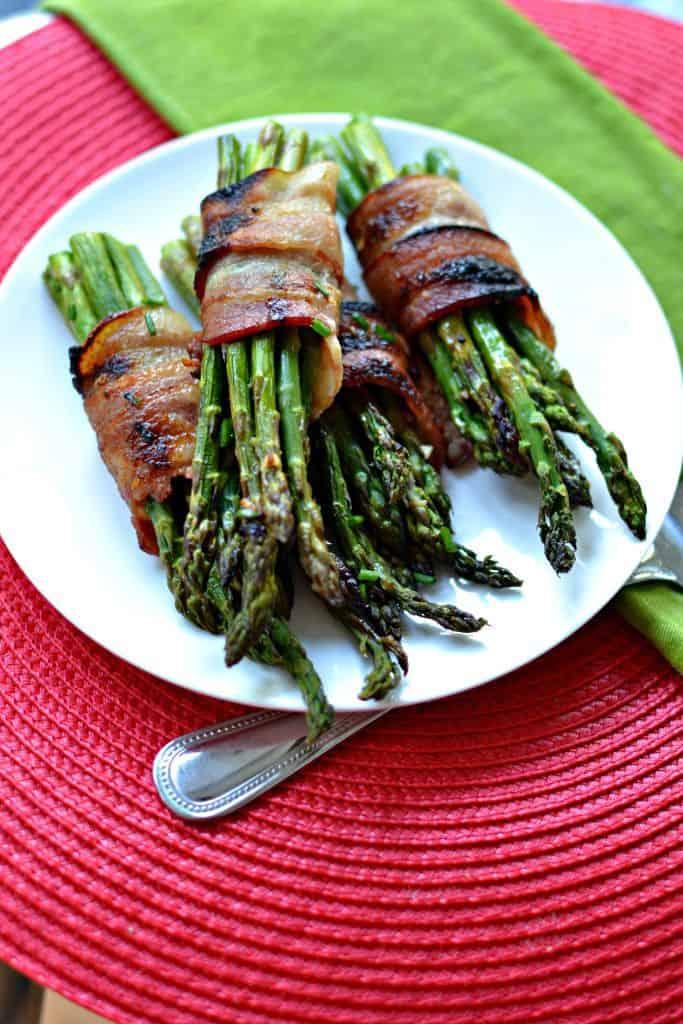 Delicious Oven Bacon Wrapped Asparagus