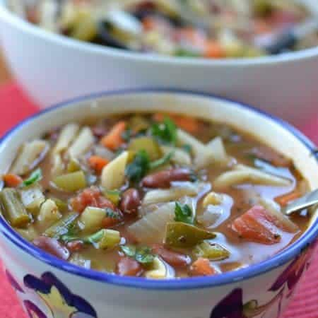 Good For You Minestrone Soup