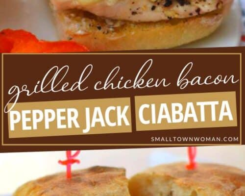 Grilled Chicken Bacon Pepper Jack Ciabatta