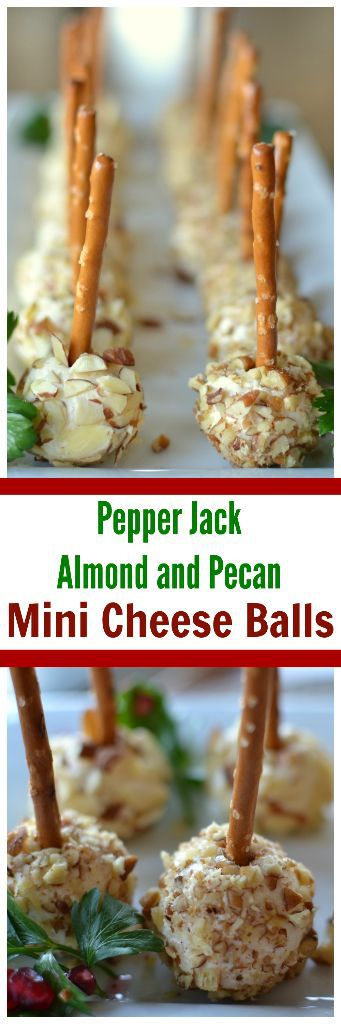 Pepper Jack Almond And Pecan Mini Cheese Balls Small
