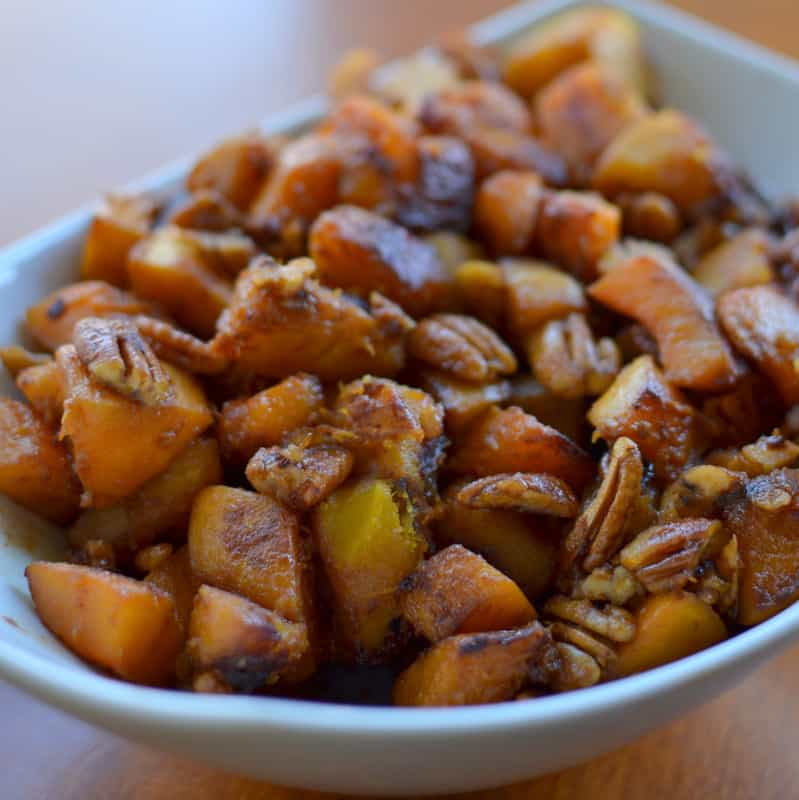 how to cook acorn and butternut squash