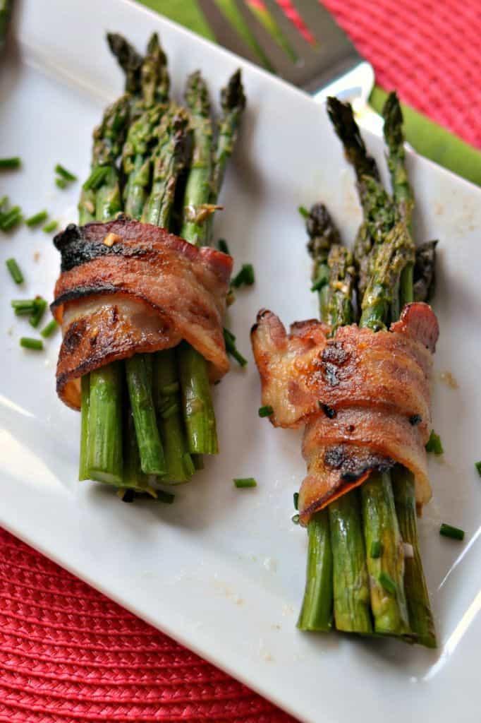 Scrumptious Oven Bacon Wrapped Asparagus