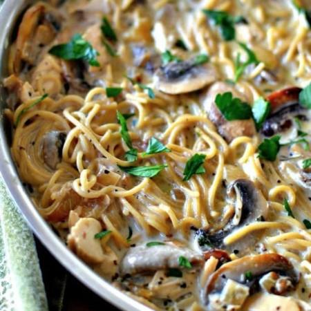 Chicken Mushroom Pasta