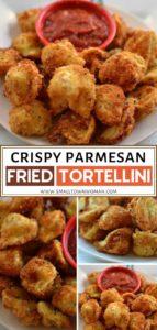 Crispy Parmesan Fried Tortellini