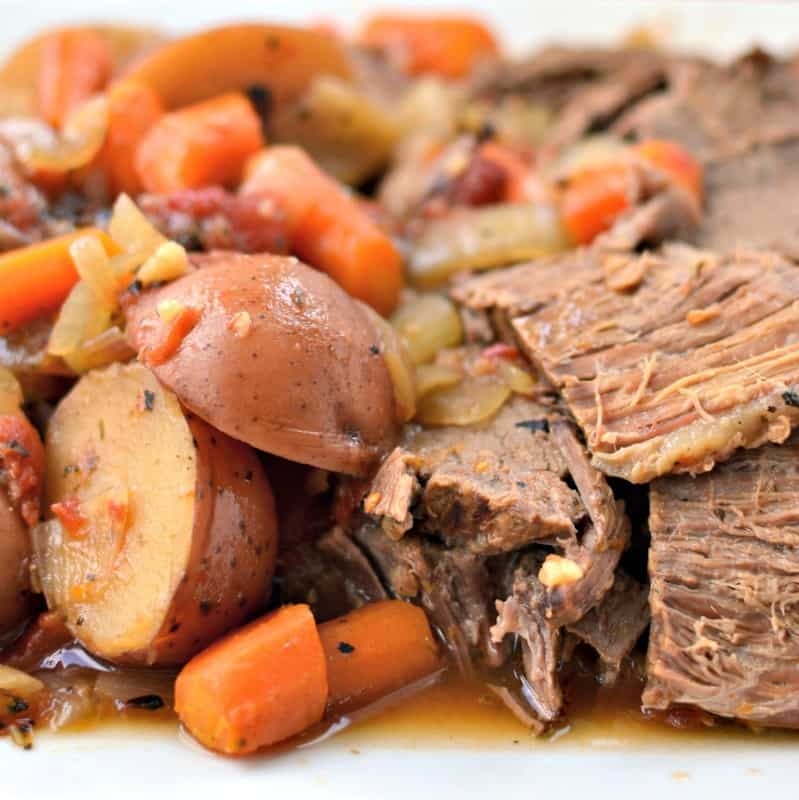 Delicious Slow Cooker Italian Pot Roast