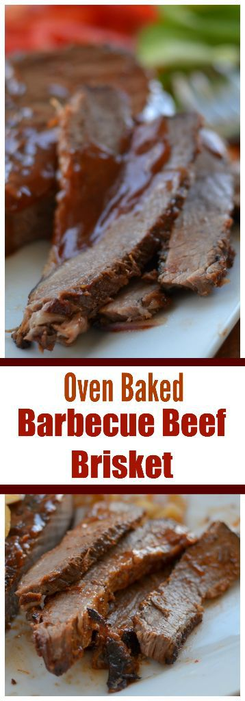how to cook a small brisket in the oven