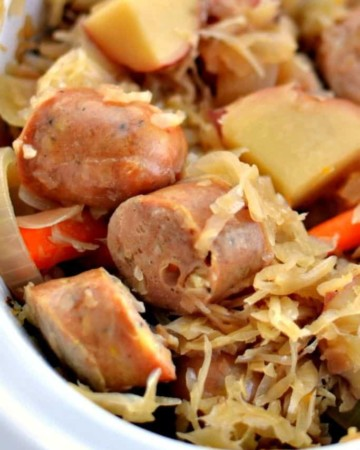 Sauerkraut and Sausage