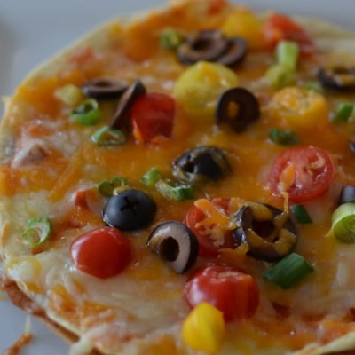 20 Minute Kid Friendly Tex Mex Pizzas