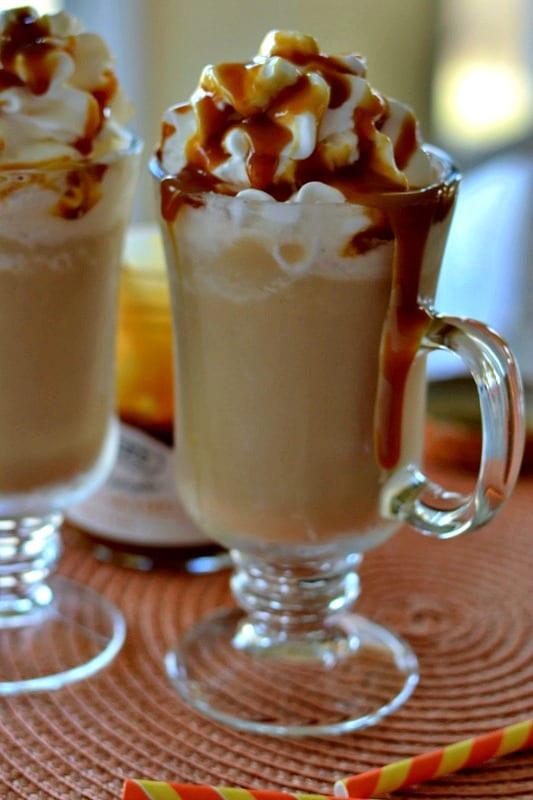 How to make a Caramel Frappuccino