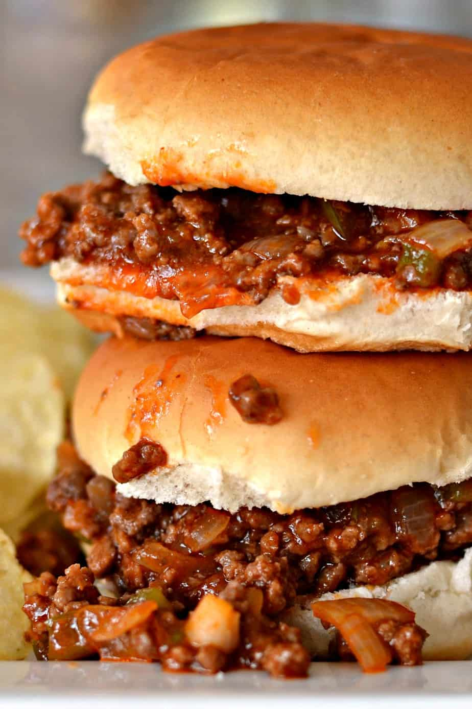 This Homemade Sloppy Joe recipe requires limited hands on time and is ready in under 30 minutes.
