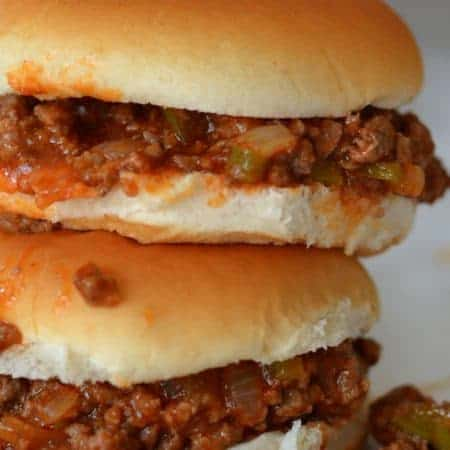 Super Easy Family Friendly Sloppy Joes