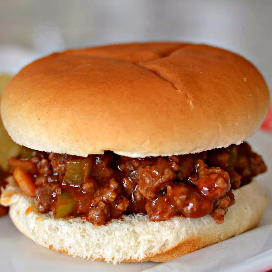 This delicious Homemade Sloppy Joe Recipe come together quickly using most ingredients that you may already have on hand.