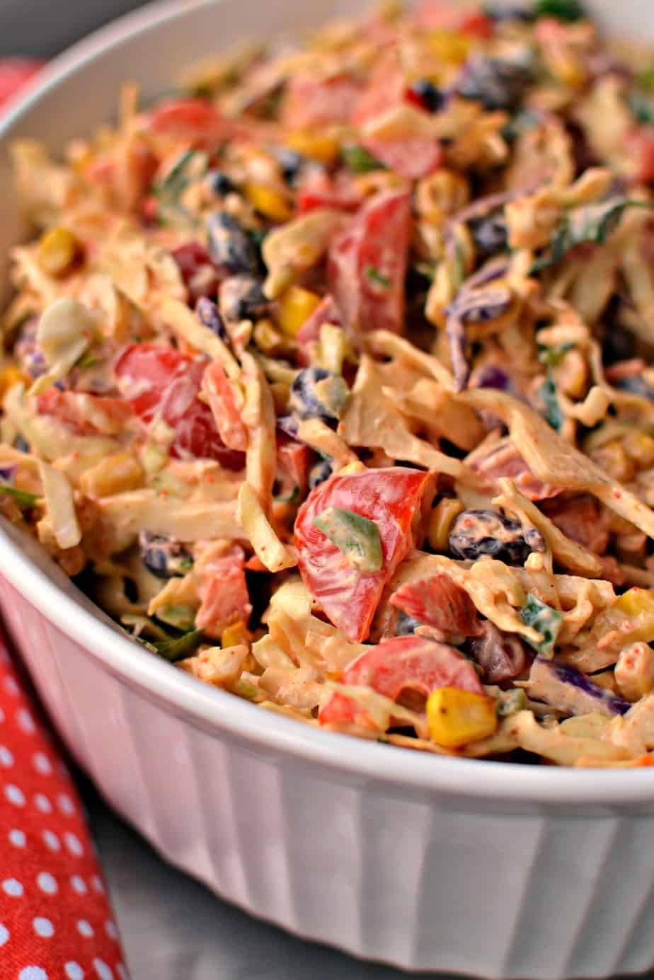 Mexican Coleslaw for Tacos