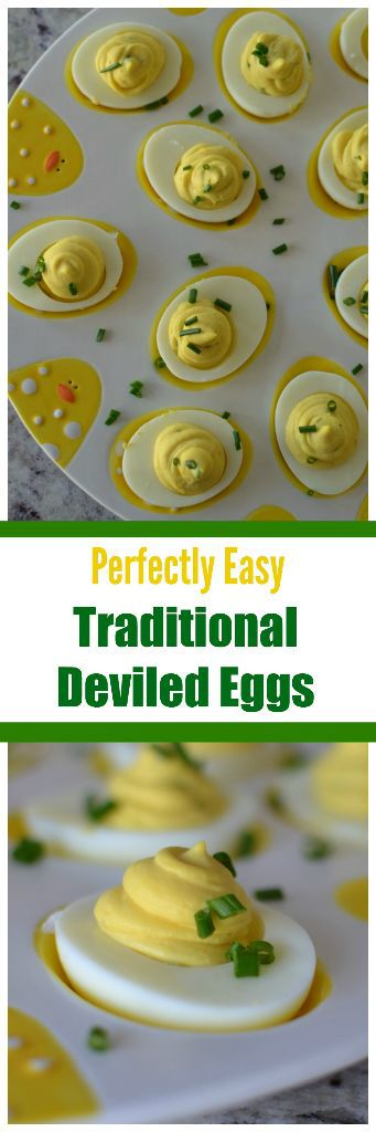 Perfectly Easy Traditional Deviled Eggs