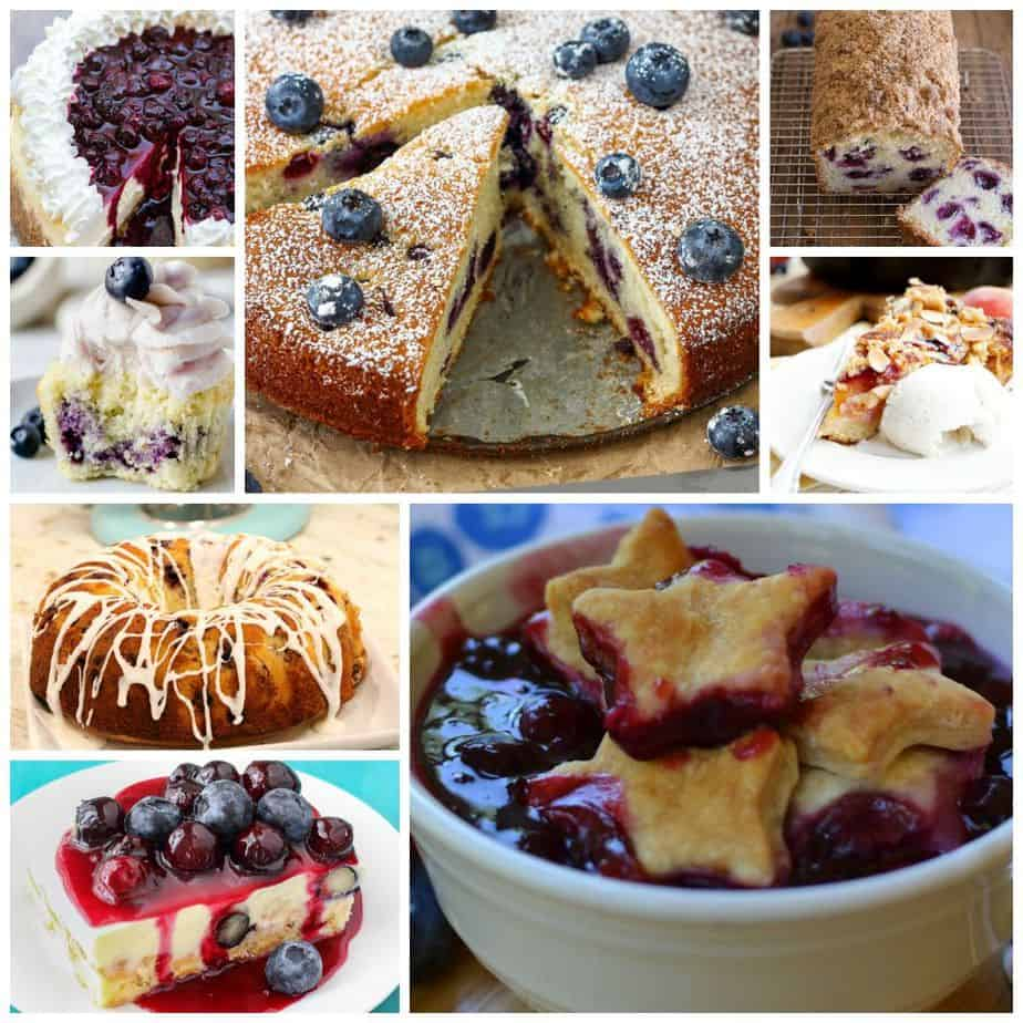 40 Blueberry Dessert Recipes