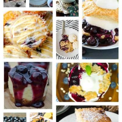 40 Blueberry Dessert Recipes