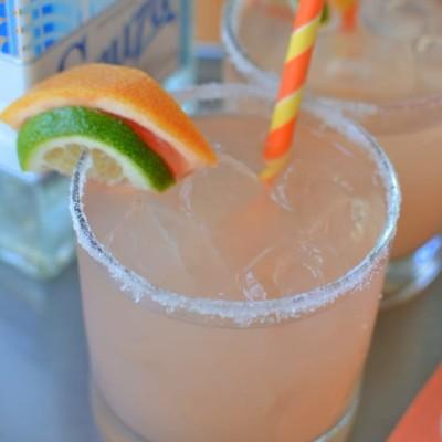 Easy Grapefruit Margaritas