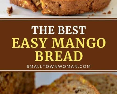 Easy Mango Bread