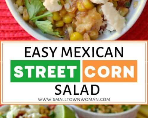 Easy Mexican Corn Recipe