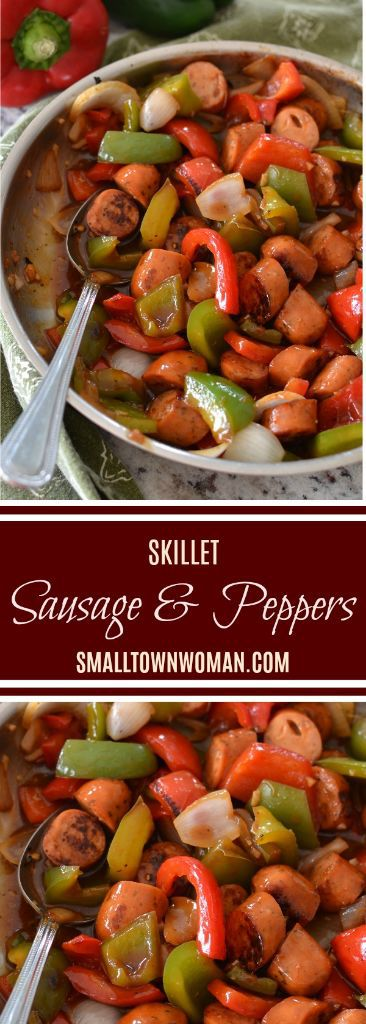Skillet Sausage and Peppers
