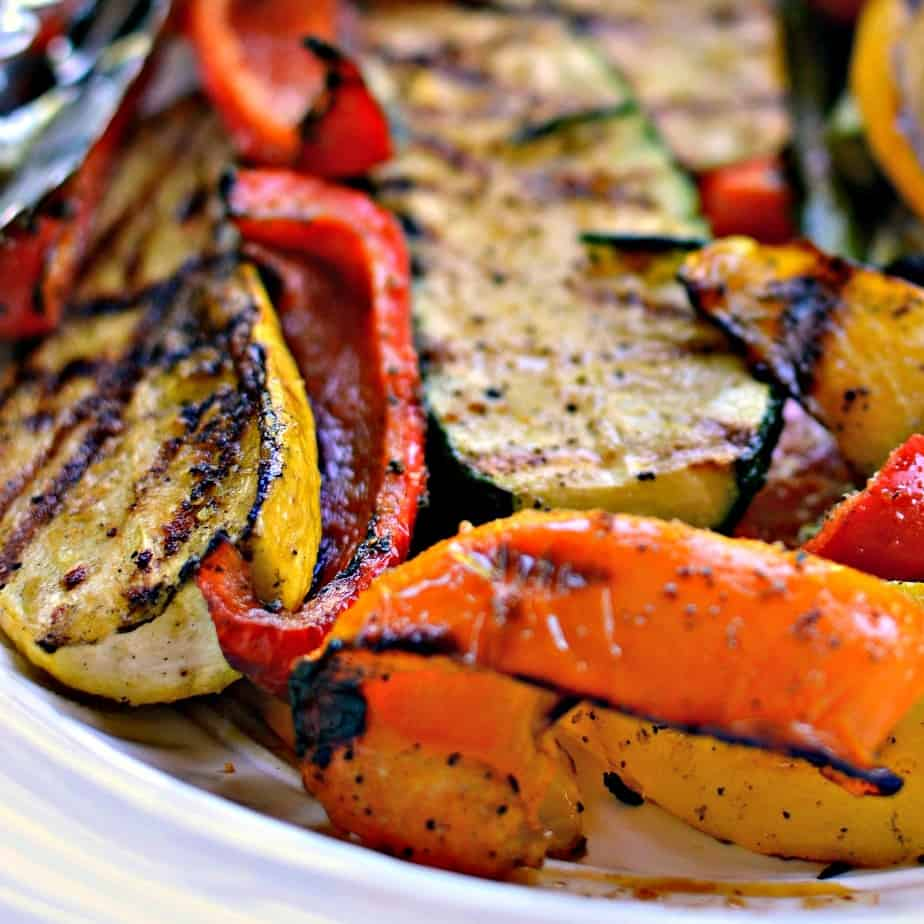Grilled vegetables make the perfect side, lunch or light summer dinner.