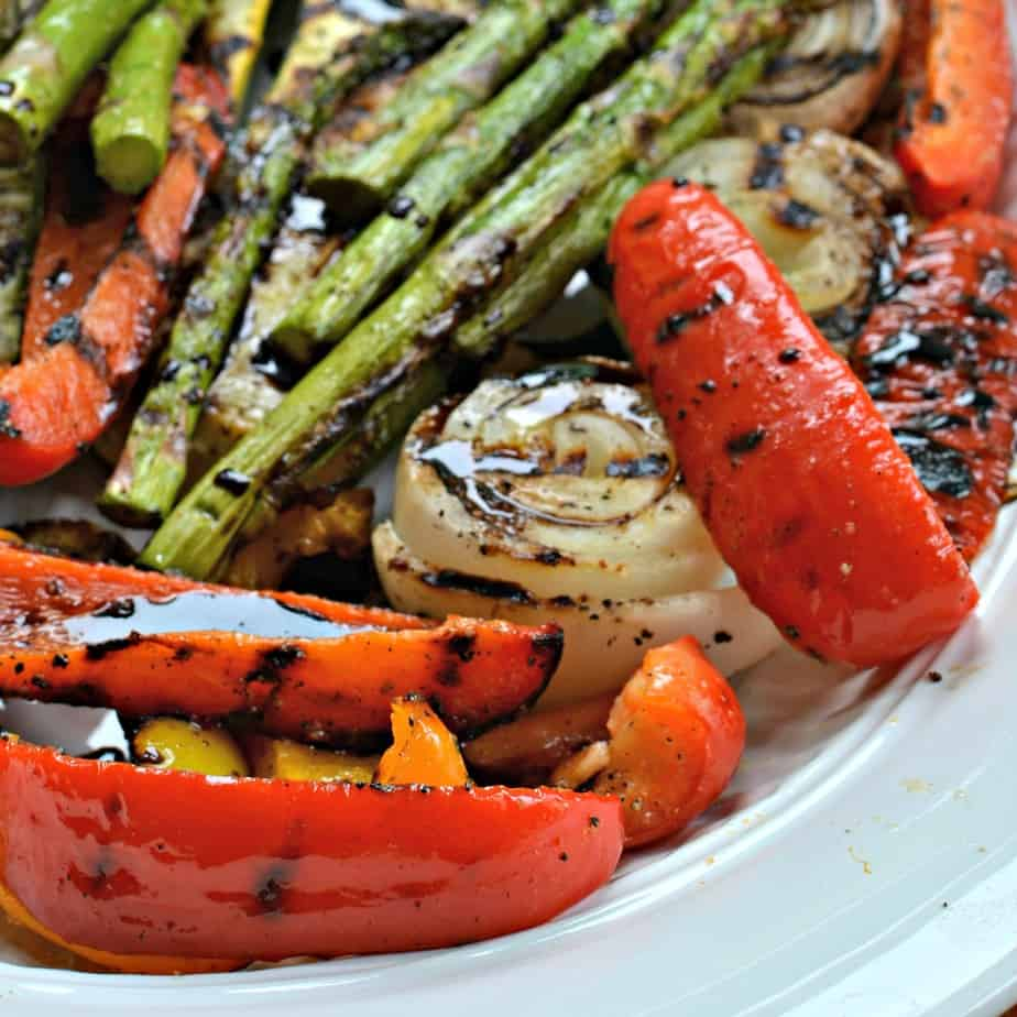 These Grilled Vegetables bring together bell peppers, zucchini, squash, onions and asparagus all grilled to perfection.