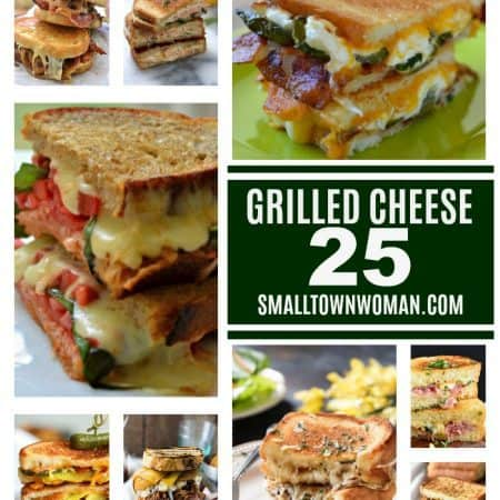 25 Grilled Cheese Sandwiches