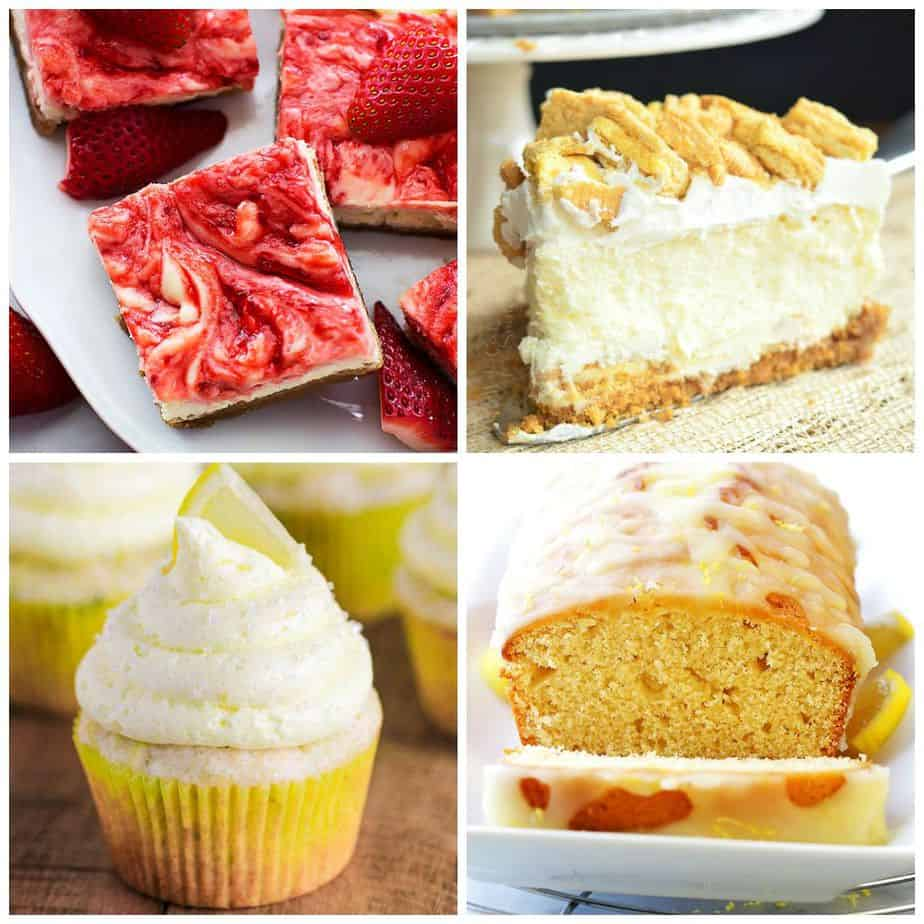 40 Lemon Dessert Recipes Small Town Woman