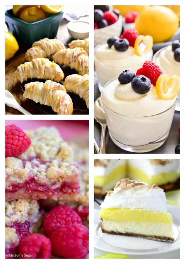 40 Lemon Dessert Recipes Small Town Woman