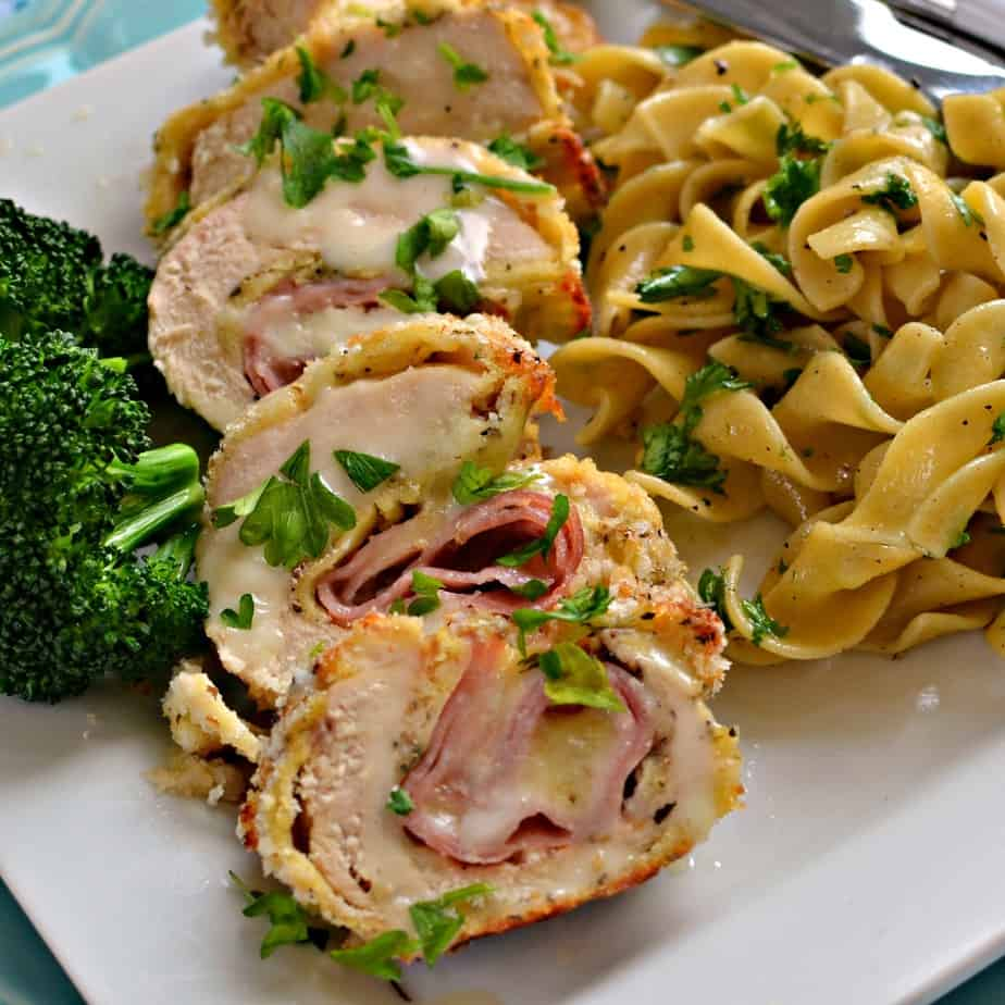 Chicken Cordon Bleu is easy enough for a weeknight yet elegant enough for company.