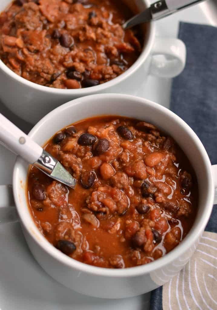 Easy Crock Pot Cowboy Beans